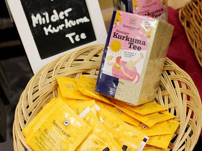 Foto: Kurkuma Tee von Sonnentor, © foodfibel.de
