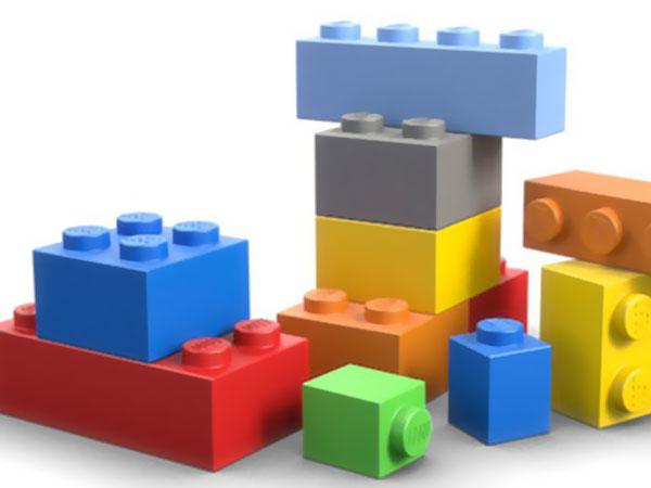 Foto. Legosteine als Grundbausteine, Creative Commons.