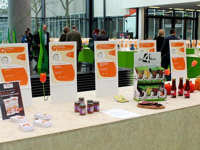 Foto: Biofach 2017, Best New Products Award, ©foodfibel.de