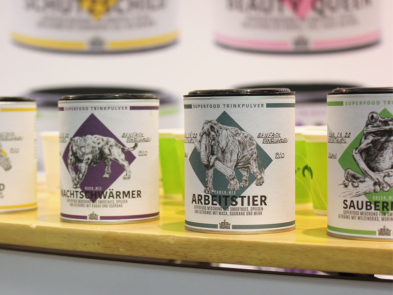 Foto: Superfood Trinkpulver von Berlin Organics, © foodfibel.de