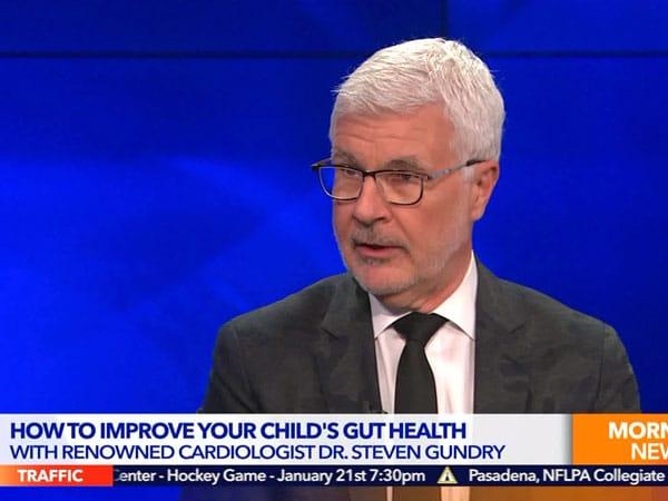 Dr. Steven Gundry im KTLA TV Morning News. Screenshot.