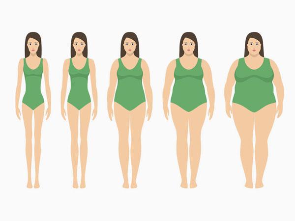 Gewicht zu und abnehmen. © Mariya Shotina  123rf.com.